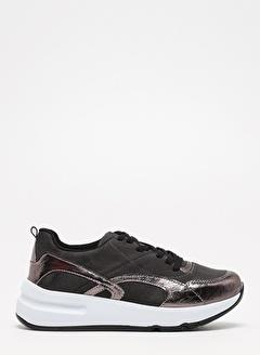 F By Fabrika Fabrika Sentetik Yüksek N Bağcıklı Ve Ik Aaaron Kadın Sneaker